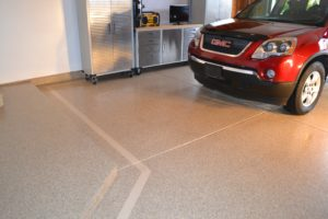 residential epoxy garage floor coating