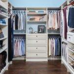 white custom cabinet